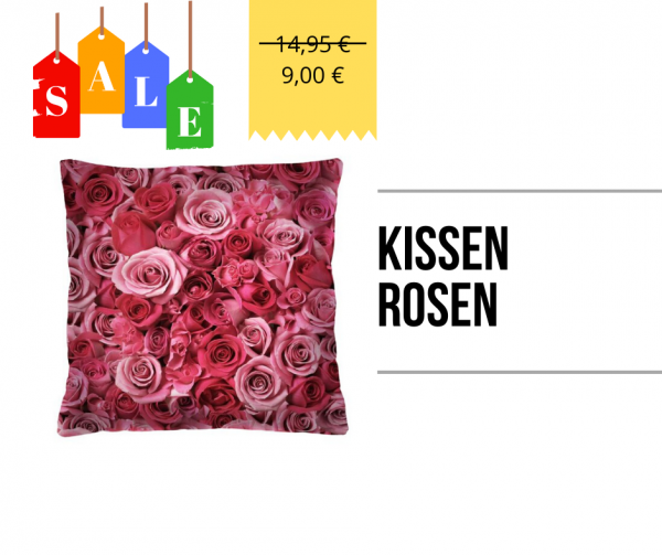 Kissen - Rosen