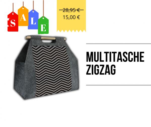 Multitasche - ZigZag