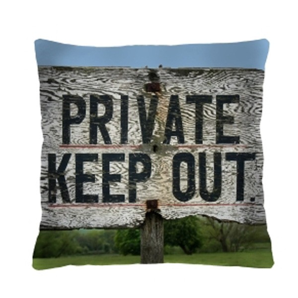 Kissen - Private Keep Out