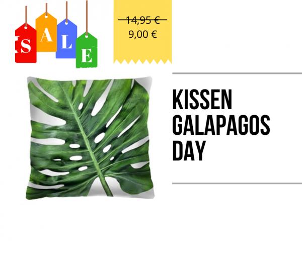 Kissen - Galapagos Day