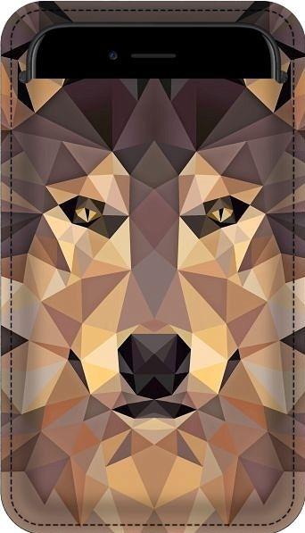 Smartphone Etui - Wolf