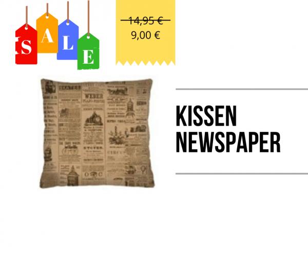 Kissen - Newspaper