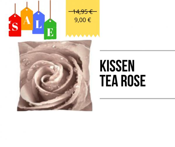Kissen - Tea Rose