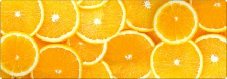 Tischläufer - Orange