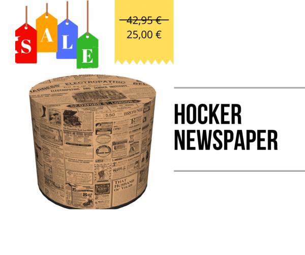 Hocker - Newspaper