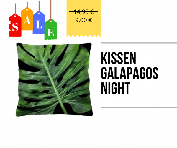 Kissen - Galapagos Night