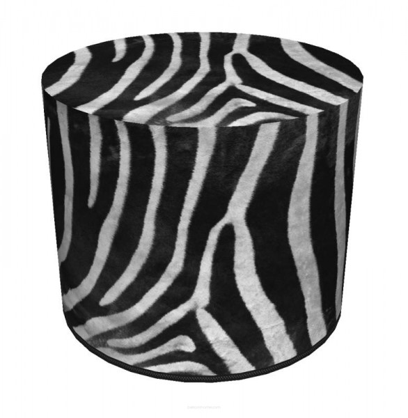 Hocker - Zebra