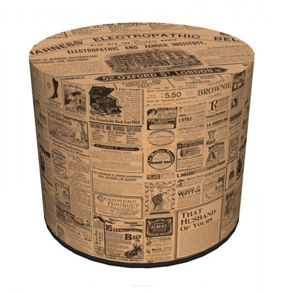 Hocker - Newspaper